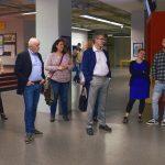 Teilnehmer veim MC Lago Event an der Uni Konstanz erhalten eine Führung.