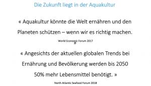 Aquakultur wird für die Ernährung der wachsenden Weltbevölkerung immer wichtiger.