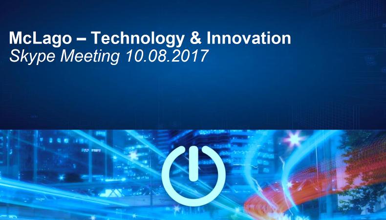 Marketing Club Lago Competence Circle Technology und Innovation ist fleissig.