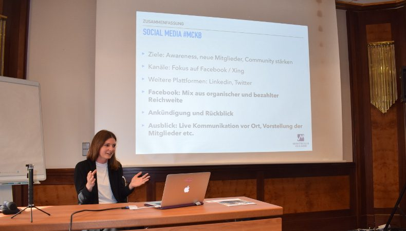 DMV Frühjahrstagung in Ulm: Social Media Workshop, Sena Rahma vom Marketing Club Köln Bonn