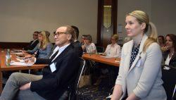 Marketing Club München präsentiert - aufmerksame Zuhörer von Marketing Clubs aus ganz Deutschland.