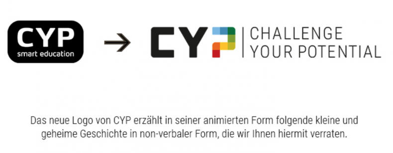 CYP steht für Challenge Your Potential, viel Neudeutsch.. Ausbildungsinstitution von einigen Banken in der Schweiz - Azubi, Praktikant, etc.