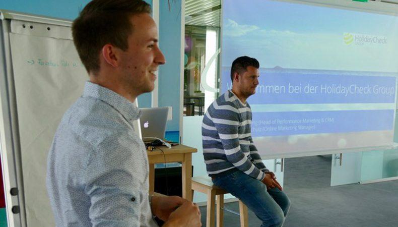 MCLago zu Gast bei HolidayCheck in Bottighofen
