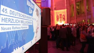 Empfang im Rathaus der Stadt Hannover am Vorabend vom #DMT18.