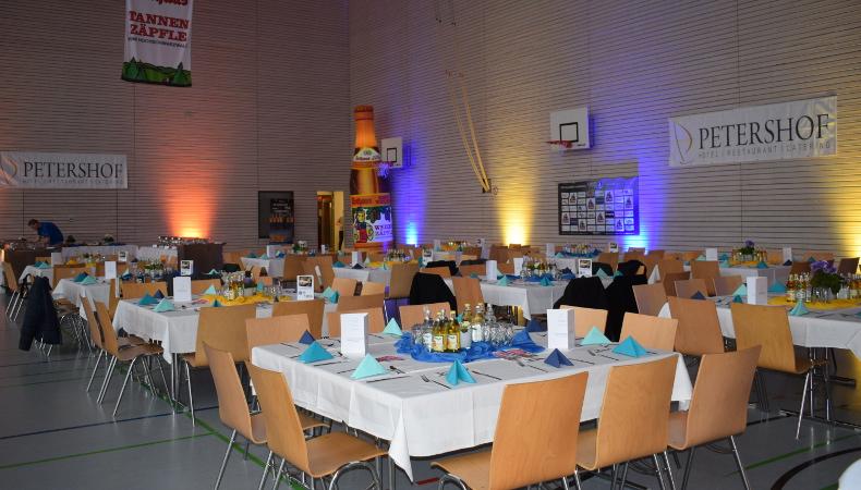 HSG Konstanz Superball 2019 - Wir warten auf die Gäste.