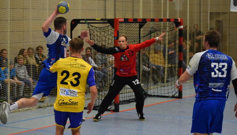 HSG Konstanz Superball 2019 - auch Maximiliam Wolf mit gutem Positionsspiel.