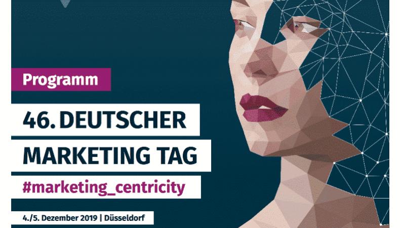 Deutscher Marketing Verband: Der MCLago am Deutschen Marketing Tag 2019 2021.