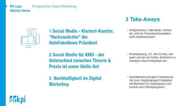 Hier nochmal zusammenfassend die 3 Faktoren für ein erfolgreiches Digital Marketing auf den Punkt gebracht: